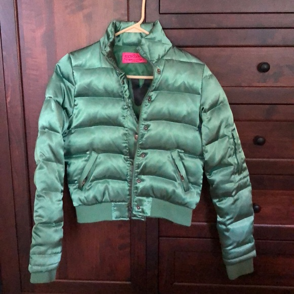 Juicy Couture Jackets & Blazers - Vintage Juicy Couture Green Bomber